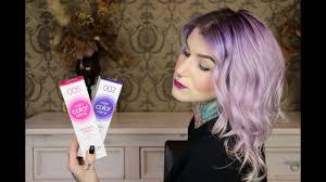 Purple Lilac Ombre Hair Revlon Nutri Color Review Tutorial