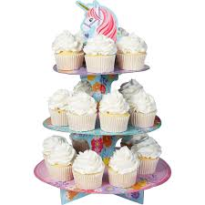 Magical Unicorn Cupcake Stand 11 34in X 14in Party City