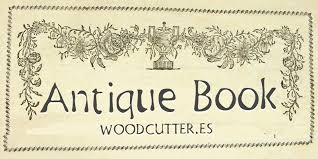 ilration woodcutter antique book
