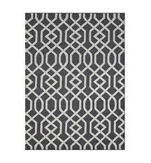 decors aroa wave collection contemporary area rug hand tufted 100 wool handmade moroccan trellis design
