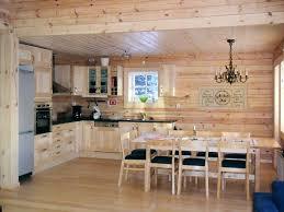 Soffitto In Legno Illuminazione : Gli interni di una casa in legno lacasainlegno