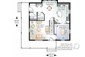 Plan Maison 4 Chambres 15 Sbain 2590 Dessins Drummond