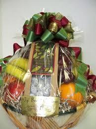 fresh fruit nuts gift basket