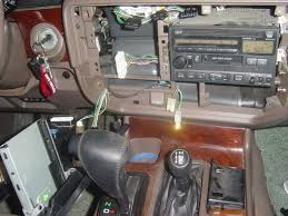 new faq topic radio install aftermarket and others ih8mud forum there are 4 phillips screws on the old head unit i took those out and gently removed the unit until i could access the wires in back unhooked the wiring