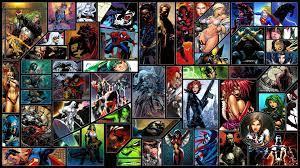 DC comics Marvel