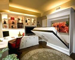 combined office interiors. Combined Office And Guest Room Den Multi Purpose Ideas Layout Interiors
