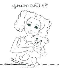 American Girl Coloring Pages Avusturyavizesiinfo