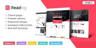 Free Bookstore Website Template Books Template Free Bookstore Website Css Templates For Gocreator Co