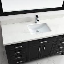 calais 60 inch double sink bathroom vanity espresso finish