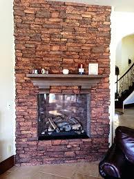 faux stone fireplace mantels mantel shelf home depot
