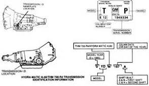 similiar chevy transmission identification codes keywords 700r4 transmission identification location image wiring diagram