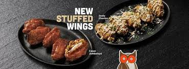 Hooters Nutrition Chart Hooters Officially Launches New Stuffed Wings Hooters