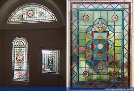 front doors ap stained glass