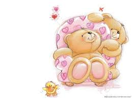 cartoon teddy bear high resolution for free wallpaper
