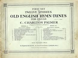 5 twelve stus on old english hymn tunes for organ book 1