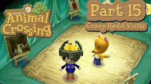 animal crossing new leaf part 15 crazy redd visits town paintings galore you