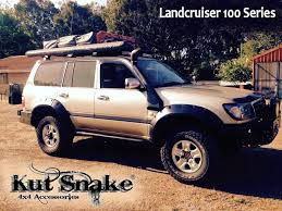 Toyota Fender Flares for Toyota Land Cruiser 100 - 95 mm wide ...