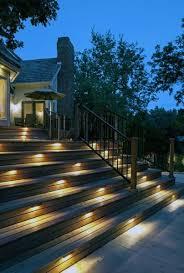 deck lighting. Rectangle Stairs Deck Lighting Ideas Deck Lighting I