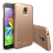 samsung galaxy s5 gold case. copper gold samsung galaxy s5 slim series full top and buttom coverage hard cover case w