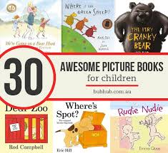 30 awesome picture books for children