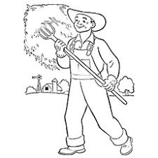 top  free printable community helpers coloring pages onlinethe farmer