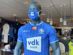 KAA Gent lanceert mondmasker dat perfect bij shirt past (Gent) - Het  Nieuwsblad Mobile