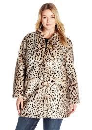 via spiga women s plus size faux fur jacket