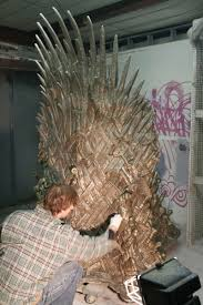 life size iron throne buy the throne from game of thrones