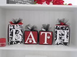 Black And White Bathroom Decor Red Bathroom Decor Pictures Ideas Tips From Hgtv Hgtv Red Black