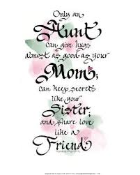 Aunt Quotes From Niece 26 Inspiration Poems For Aunts From Nieces AUNT POEMS Places In My Mind