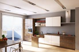 modern kitchen furniture. Deluxe Kitchen With Fancy Furniture And Stove Modern