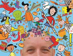 This is a book all about me. Get Drawing Tips From Nick Sharratt The Illustrator Behind Tracy Beaker Getreading