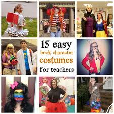 15 easy book character costumes for teachers new teachers book characters costumes and book character costumes