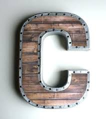 large letters for wall large metal wall letters large metal wall letters regarding large metal letters