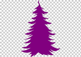 Purple Christmas Card Paper Decal Sticker Christmas Tree Purple Christmas Card