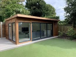 cedar clad garden room bakers garden