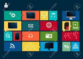 Social Media Design Templates Modern Design Template Social Media Buttons For Design Business