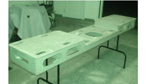 portable chop saw table. light weight miter table portable chop saw .