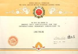 chinese medical foundation the american medical technology  certificate