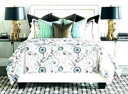 blue and brown comforter sets full light king turquoise bedding new piece home improvement wonderful e