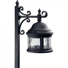 low voltage lighting connector home depot kit light black outdoor