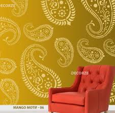 colorful wall decor stencil model wall art collections