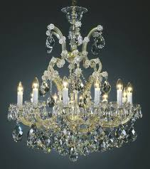 maria theresa chandeliers classic clear and gold maria theresa style crystal chandelier