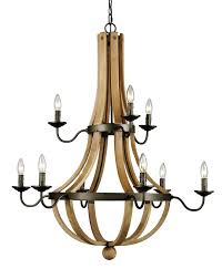 dimitri 9 light candle style chandelier