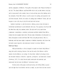 leadership profile paper  10