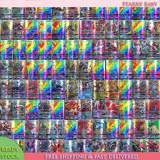 Bộ Thẻ Pokemon 100 Chiếc Tải Lên Mới Phim Hoạt Hình Trò Chơi Thẻ Thẻ Giao  Dịch GX Cho Trẻ Em, Với 95 Lá Bài Pokemon GX Và 5 Lá Pokemon Mega