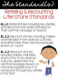 Second Grade Nest: Retelling & Recounting Stories: Exploring ELA