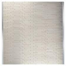 self adhesive backsplash tile linox metal