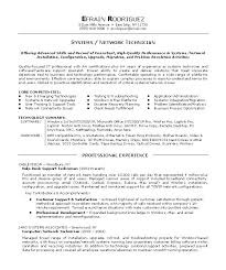 Tech Resume Examples Resume Template Directory
