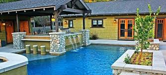 backyard pool and outdoor kitchen designs. Beautiful Designs Pool With Outdoor Kitchen Pools  Area Backyard And Throughout Backyard Pool And Outdoor Kitchen Designs T